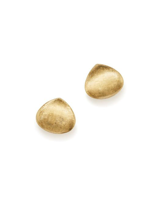 Marco Bicego - Metallic 18k Yellow Gold Paradise Teardrop Stud Earrings - Lyst