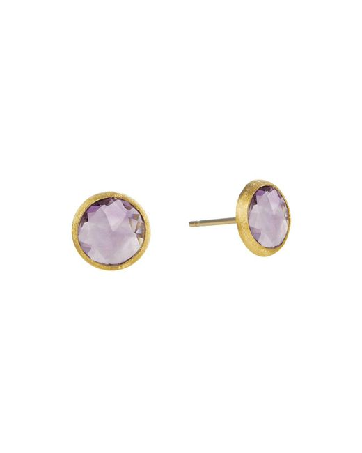 Marco Bicego | Purple Jaipur Amethyst Stud Earrings | Lyst