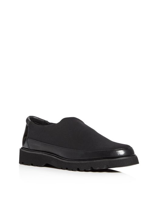 Donald J Pliner - Black Carly Platform Loafers - Lyst