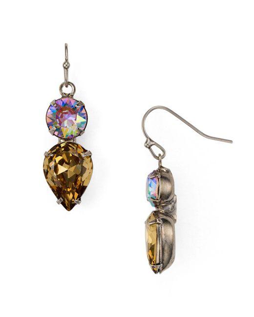 Sorrelli - Multicolor Drop Earrings - Lyst