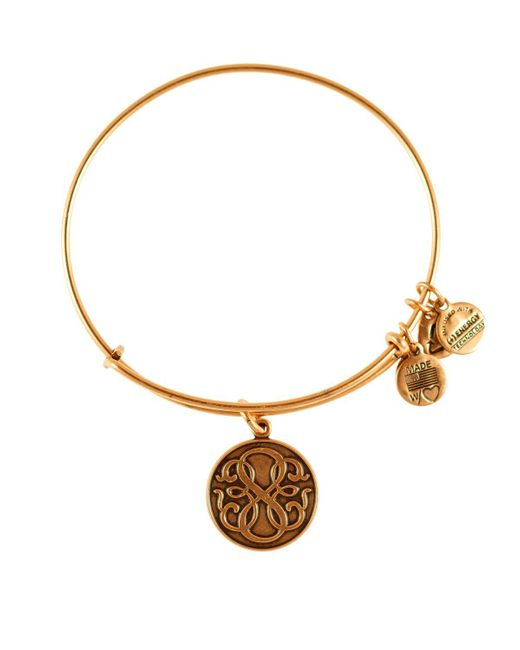 ALEX AND ANI | Metallic Path Of Life Infinity Bangle | Lyst