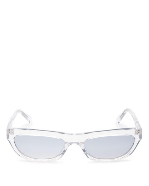 Kendall + Kylie - Metallic Kendall And Kylie Women's Courtney Flash Mirrored Cat Eye Sunglasses, 53mm - Lyst