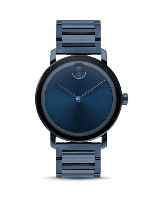 Movado Bold - Blue 40mm for Men - Lyst