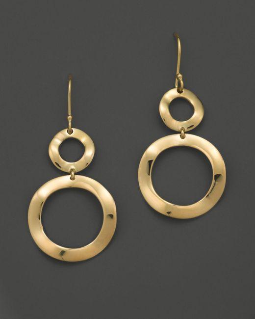 Ippolita   Metallic 18k Gold Snowman Earrings   Lyst