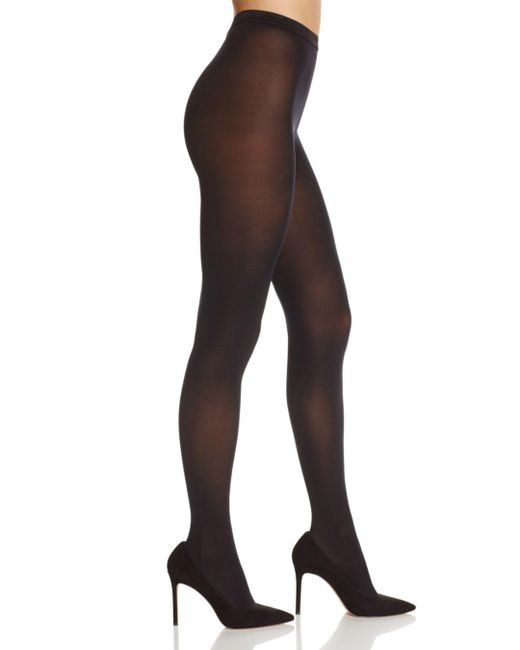 Fogal - Black Velour Opaque 50 Denier Tights - Lyst