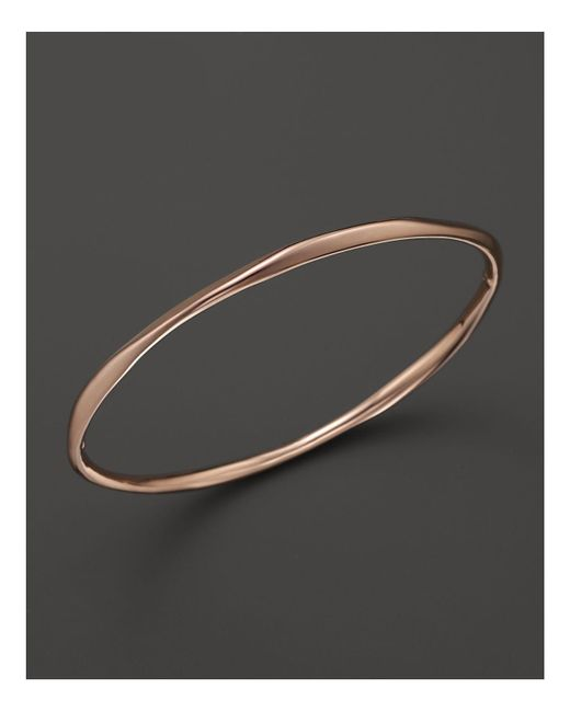 Ippolita | Pink Rosé Squiggle Bangle | Lyst