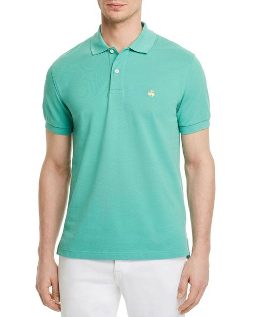 Brooks Brothers - Green Knit Slim Fit Polo Shirt for Men - Lyst