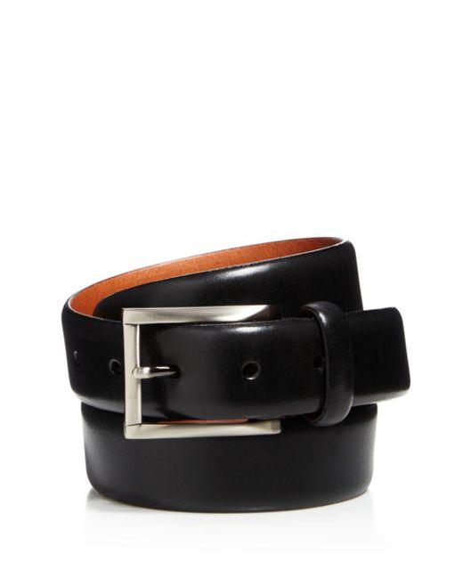 Trafalgar - Black Marco Leather Belt for Men - Lyst