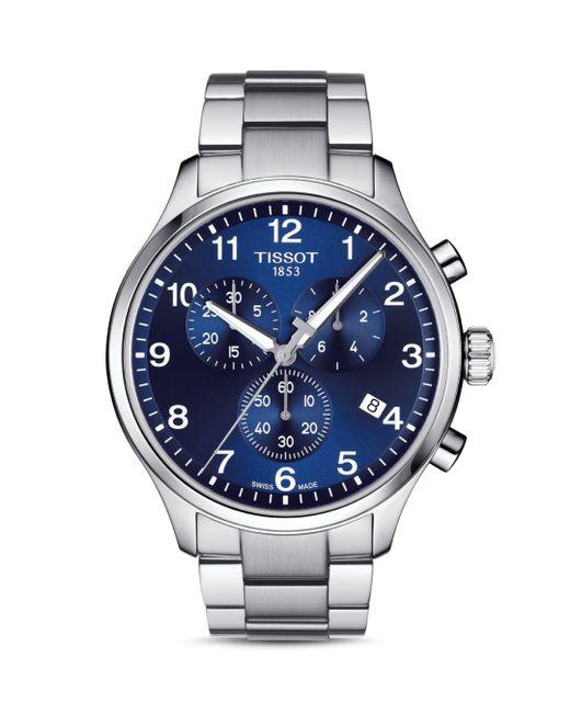 Tissot - Blue 45mm for Men - Lyst