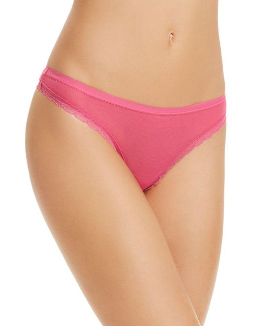 On Gossamer - Multicolor Next To Nothing Hip G Thong - Lyst