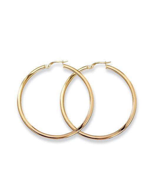 Roberto Coin - Metallic 18k Yellow Gold Hoop Earrings/1.75 - Lyst