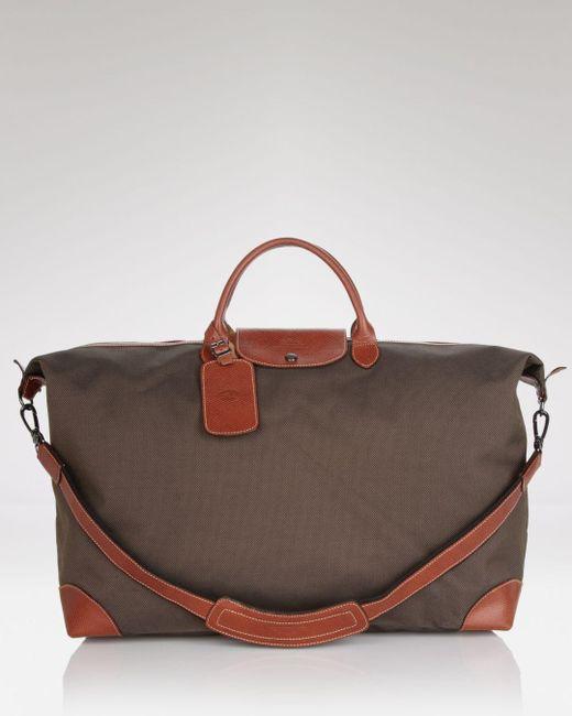 Longchamp - Brown Boxford Extra Large Duffel Bag for Men - Lyst ... 1596407fcac87