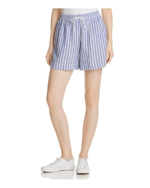 Beach Lunch Lounge | Blue Stripe Drawstring Shorts | Lyst