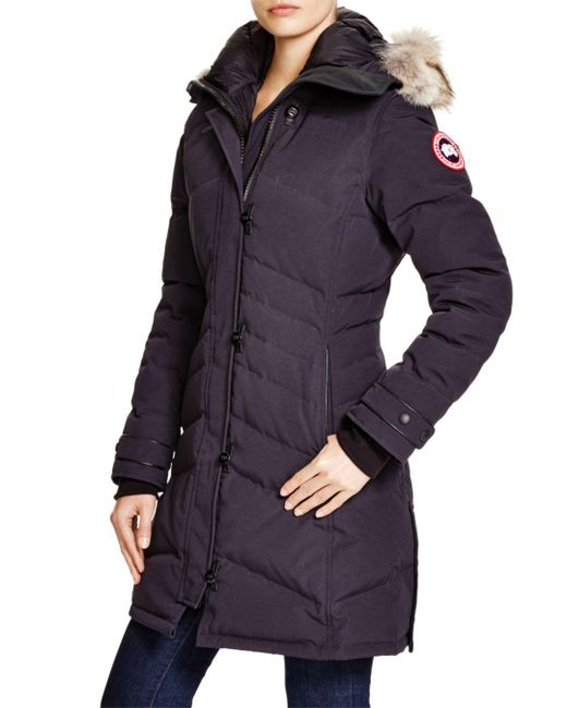 Canada Goose - Blue Lorette Quilted Down Jacket  - Lyst