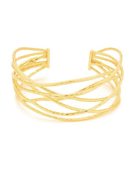 Gorjana - Metallic Lola Crisscross Wire Cuff - Lyst