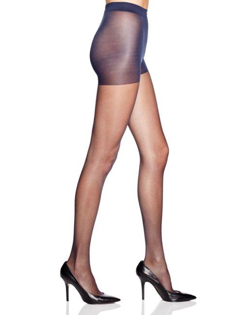 Calvin Klein - Blue Matte Ultra Sheer Control Top Tights - Lyst