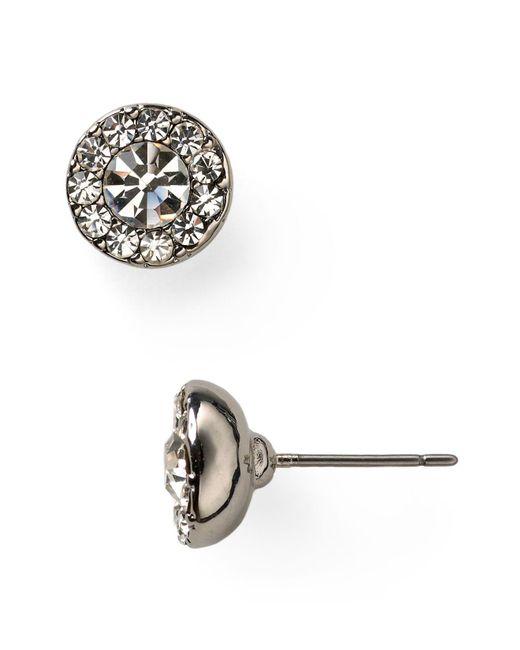 Ralph Lauren   Metallic Lauren Glass Stud Earrings   Lyst
