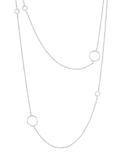 Gorjana - Metallic Quinn Delicate Wrap Necklace - Lyst