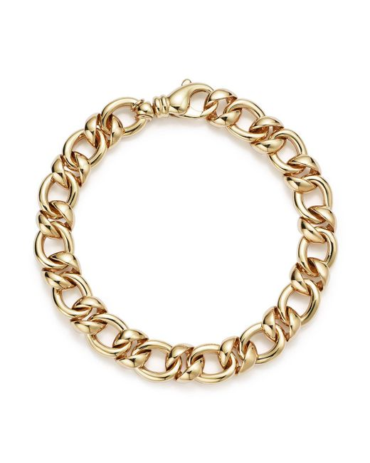 Bloomingdale's - Metallic 14k Yellow Gold Link Bracelet - Lyst