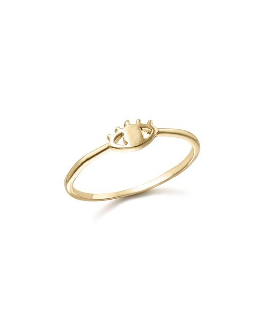 Bing Bang - Metallic 14k Yellow Gold Eye Ring - Lyst