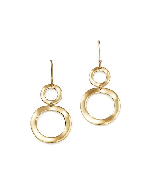 Ippolita | Metallic 18k Gold Snowman Earrings | Lyst