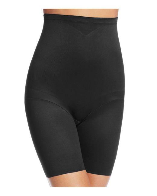 Tc Fine Intimates | Black Adjust Perfect High-waist Thigh Slimmer Shorts | Lyst