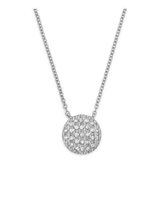 Dana Rebecca | 14k White Gold Lauren Joy Medium Necklace With Diamonds | Lyst