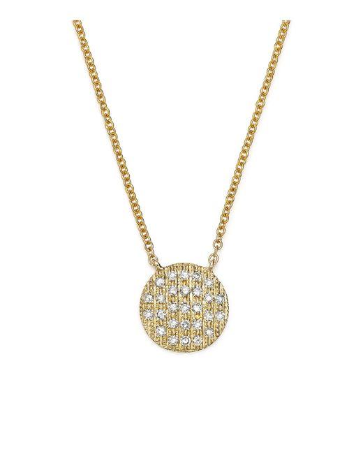 Dana Rebecca   Metallic 14k Yellow Gold Lauren Joy Medium Necklace With Diamonds   Lyst