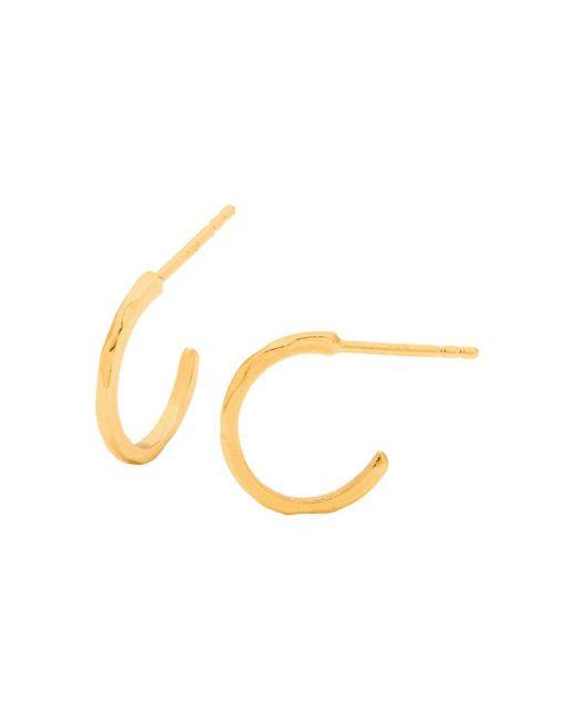 Gorjana - Metallic Taner Mini Hoop Earrings - Lyst