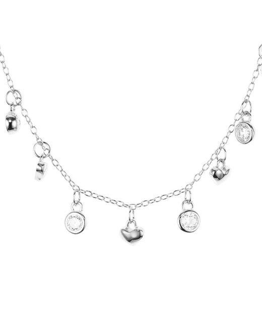 Argento Vivo - Metallic Heart Dangle Necklace - Lyst