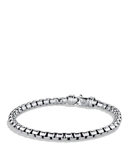 David Yurman - Metallic Large Box Chain Bracelet for Men - Lyst