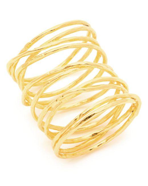Gorjana - Metallic Lola Crisscross Wire Ring - Lyst