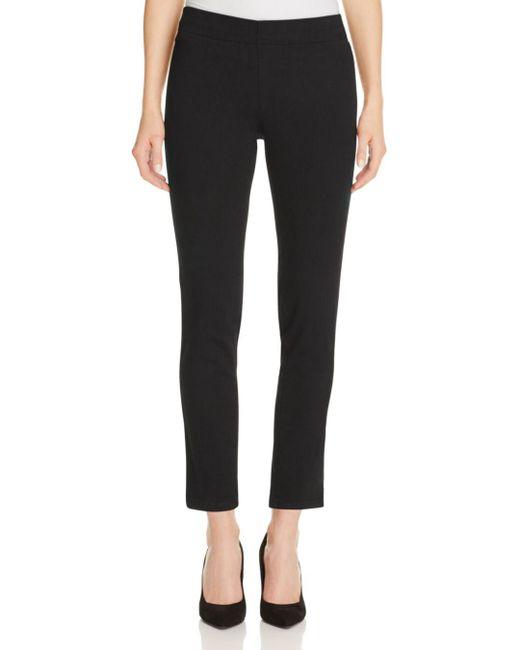 NYDJ - Millie Ankle Legging Jeans In Black - Lyst