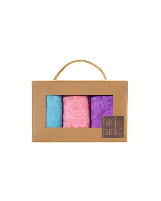 Hanky Panky - Multicolor Set Of 3 - Lyst