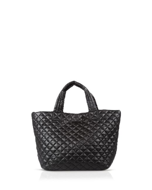 MZ Wallace - Black Oxford Metro Small Tote - Lyst