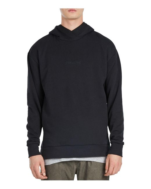 Zanerobe | Black Rugger Hooded Sweatshirt for Men | Lyst