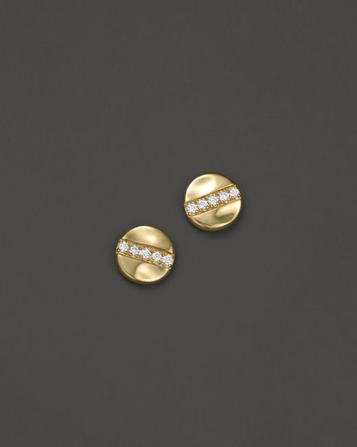 Ippolita - Metallic 18k Glamazon® Stardust Stud Earrings With Diamonds - Lyst