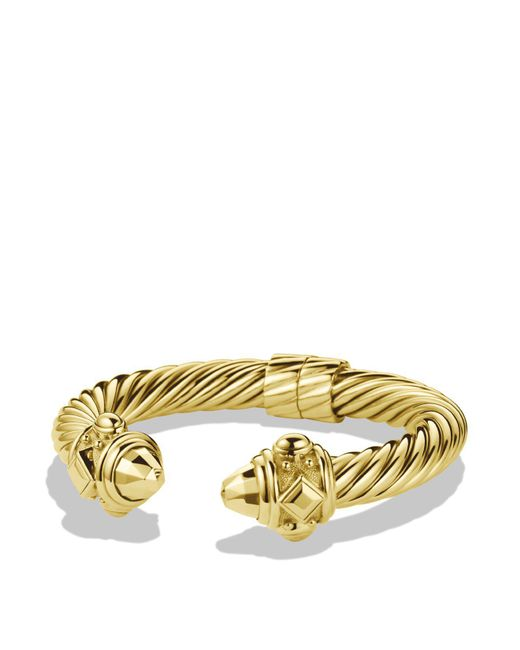 David Yurman | Metallic Renaissance Bracelet In Gold | Lyst