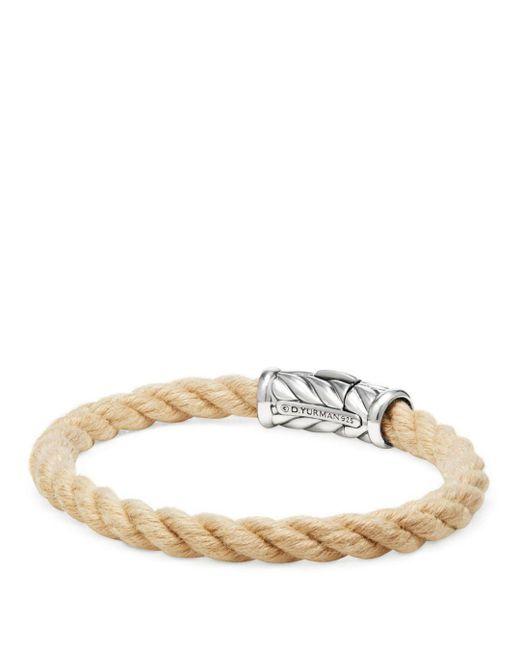 David Yurman - Metallic Maritime Rope Bracelet - Lyst