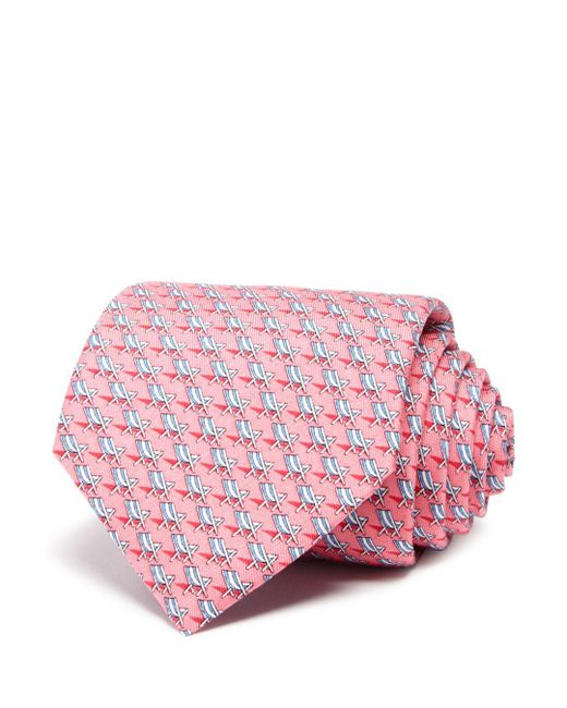 Vineyard Vines - Pink Beach Chair Classic Tie for Men - Lyst
