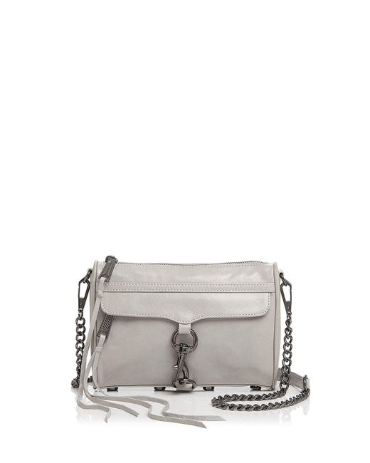 Rebecca Minkoff | Multicolor Mini Mac Distressed Leather Crossbody | Lyst