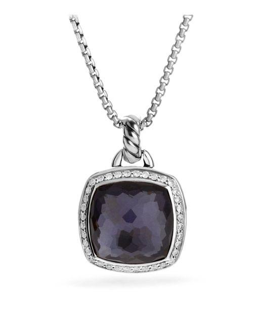 David Yurman | Metallic Albion Pendant With Lavender Amethyst And Diamonds | Lyst