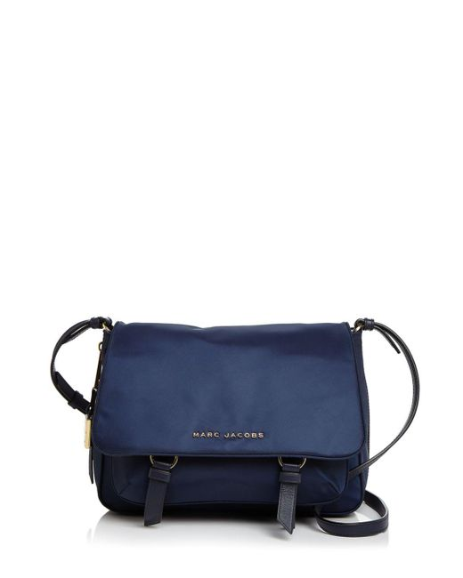 Marc Jacobs - Blue Zip That Small Messenger - Lyst