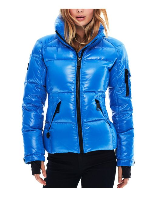 Sam. - Blue Freestyle Down Jacket - Lyst