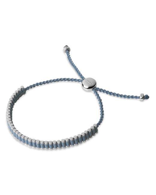 Links of London - Blue Sterling Silver Mini Friendship Bracelet - Lyst