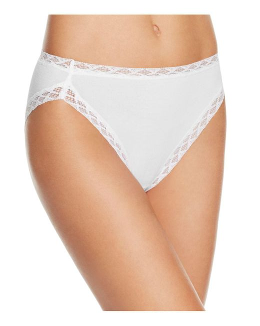 Natori | White Bliss French Cut Bikini | Lyst