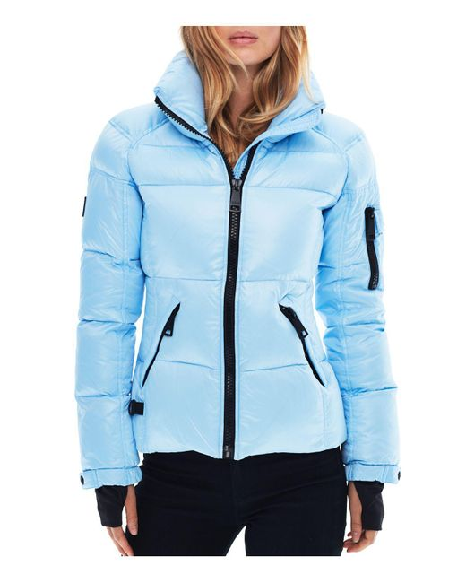 Sam.   Blue Freestyle Down Jacket   Lyst