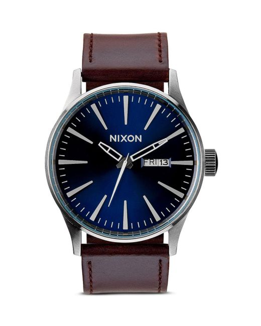 Nixon - Blue 42mm - Lyst