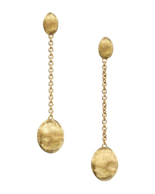"Marco Bicego - Metallic ""siviglia Collection"" Gold Drop Earrings - Lyst"