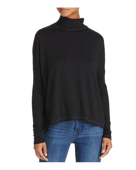 Rag & Bone - Black Amelie Back-cutout Sweater - Lyst